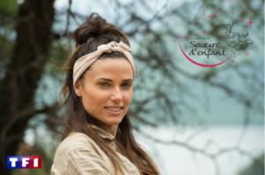 Capucine Anav dans l'émission je suis une célébrité, sortez-moi de là pour sourire d'enfant